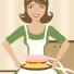 Birgitte Baadegaard: Lidt om bagning og burde-kasketten