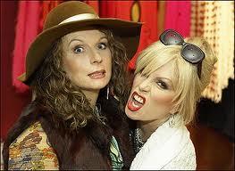 Patsy and Edina from ab fab