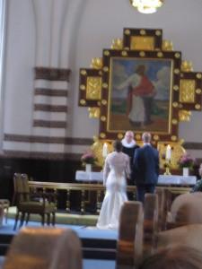 foran præsten