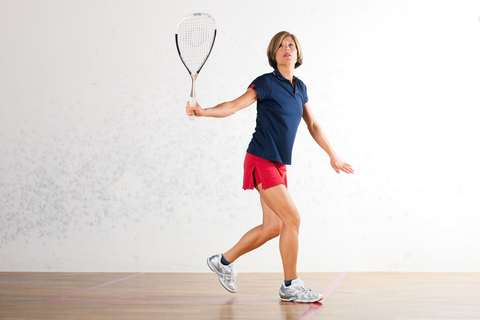 http://www.dreamstime.com/royalty-free-stock-image-squash-racket-sport-gym-woman-playing-mature-as-might-be-competition-image32481166